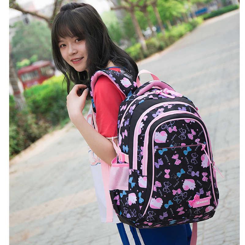 Adisputent حقيبة مدرسية s الأطفال حقائب الظهر المراهقين الفتيات خفيفة الوزن مقاوم للماء حقيبة مدرسية الطفل العظام الحقائب المدرسية الأولاد