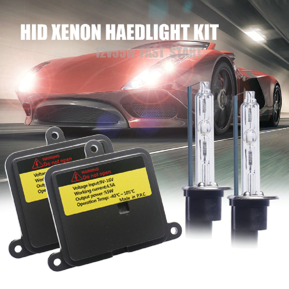 9005 HB3 9006 HB4 H1 H3 <font><b>H7</b></font> H8 H9 H11 881 880 55W Car Light HID Xenon Kit 55w fast start xenon Ballast Auto Headlight bulb image