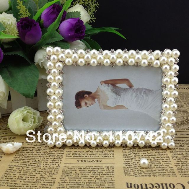 Free Shipping 10pcslot 3x5 Inch Pearldiamond Zinc Alloy Picture