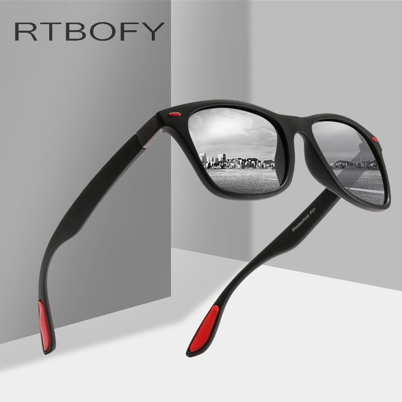 97ca7546bc RTBOFY Men Women Classic Retro Rivet Polarized Sunglasses Design Square  Frame 100% UV Protection Manufacturers Wholesale Glasses