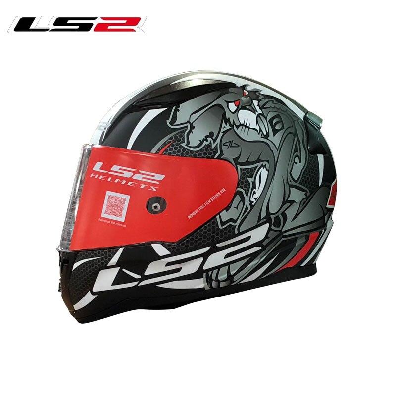 Mew Arrival LS2 FF353 Full Face Motorcycle Helme Man Woman Racing Motorbike Helmets Rapid Moto Helmets