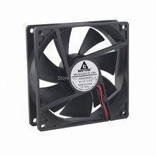 100 Adetgrup Gdstime 9 cm 92mm 92x25mm 9225 DC 12 V 2Pin Fırçasız Soğutma Fanı