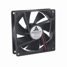 100Pieces LOT Gdstime 9cm 92mm 92x25mm 9225 DC 12V 2Pin Brushless Cooling Fan
