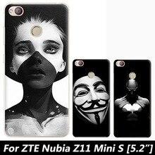 Для ZTE Нубии Z11 Мини случае, Джо марка 3D мультфильм полное покрытие твердой оболочки живопись обложка чехол для ZTE Нубии Z11 Mini S