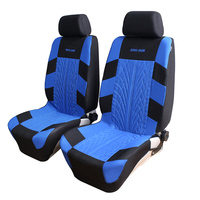 Polyester Fabric Universal Car Seat Cover Set Car Styling Fit Most Car Interior Accessories Sedans Seat