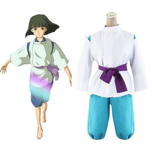 Anime Hayao Miyazaki Spirited Away Kimono Chihiro Cosplay Szen Haku Miyazaki Cosplay Costume Egyedi Made