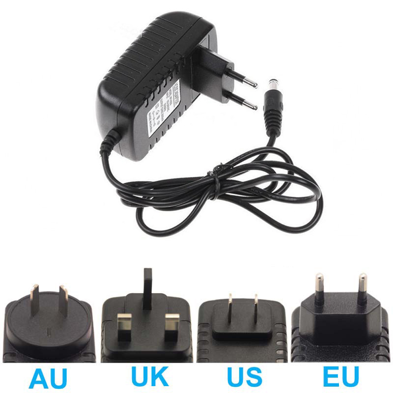 LED Power Supply Transformers DC 12V 2A Driver AC 220 to 12V Low Voltage Adapter EU US AU UK Plug For Led Strip Lighting