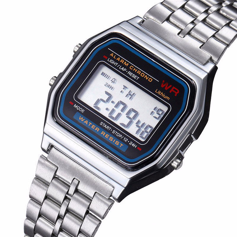 LED Watch Multifunction Design Cheap Electronic Fashion Luxury Men Relojes Hot Life Brand