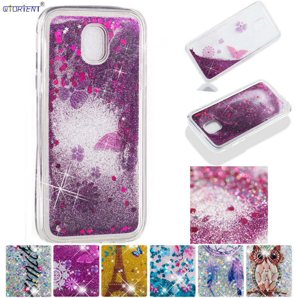 Cellphones & Telecommunications Glitter Cover For Samsung Galaxy J3 Pro J3 2017 Cute Back Case J330 Sm-j330f/ds Sm-j330fl Bling Liquid Quicksand Soft Phone Case