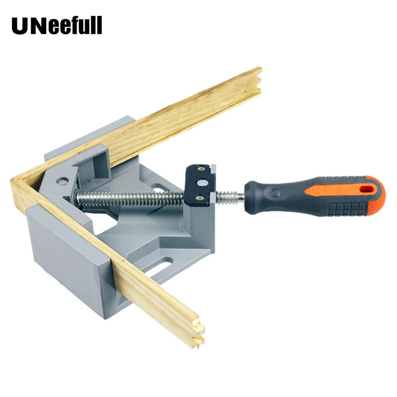 UNeefull Hand tools Clamps 90-degree Angle Vise Single Handle Adjustable For Frame Fight Splices Clip Woodworking Folder ToolsUNeefull Hand tools Clamps 90-degree Angle Vise Single Handle Adjustable For Frame Fight Splices Clip Woodworking Folder Tools