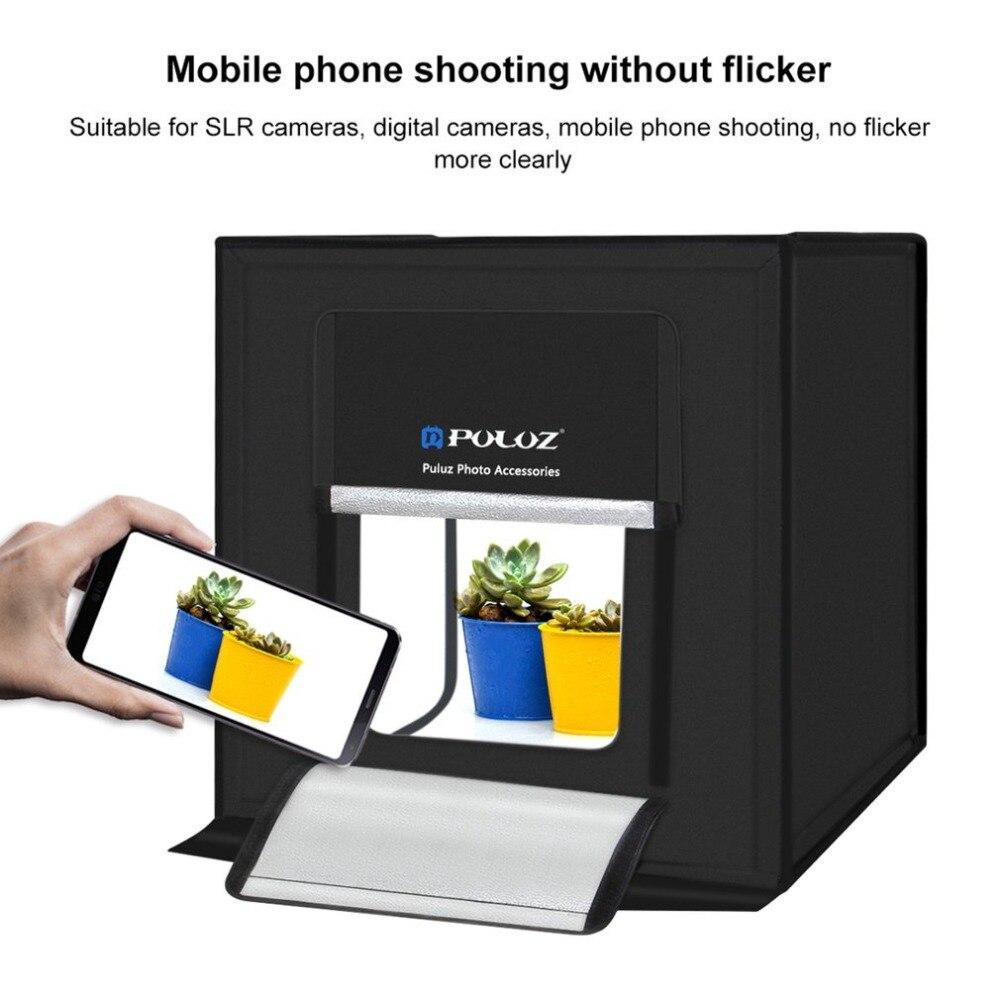 PULUZ Tent-Box-Kits Softbox Photo-Lighting Studio Mini Portable 60--60cm 60W