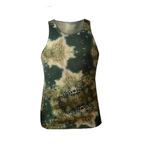 Kryptek Camo Compression Original Fitted Tank Mandrake Breathable Quick-dry Lycra