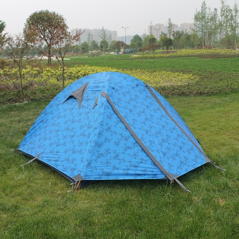 Outdoor Barracas De Camping Tents Hiking Climbing Outing Picnic Tenda Waterproof Folding Portable Tente Double Layer Ultralight outdoor camping hiking picnic bags portable folding large picnic bag food storage basket handbags lunch box keep warm and cold