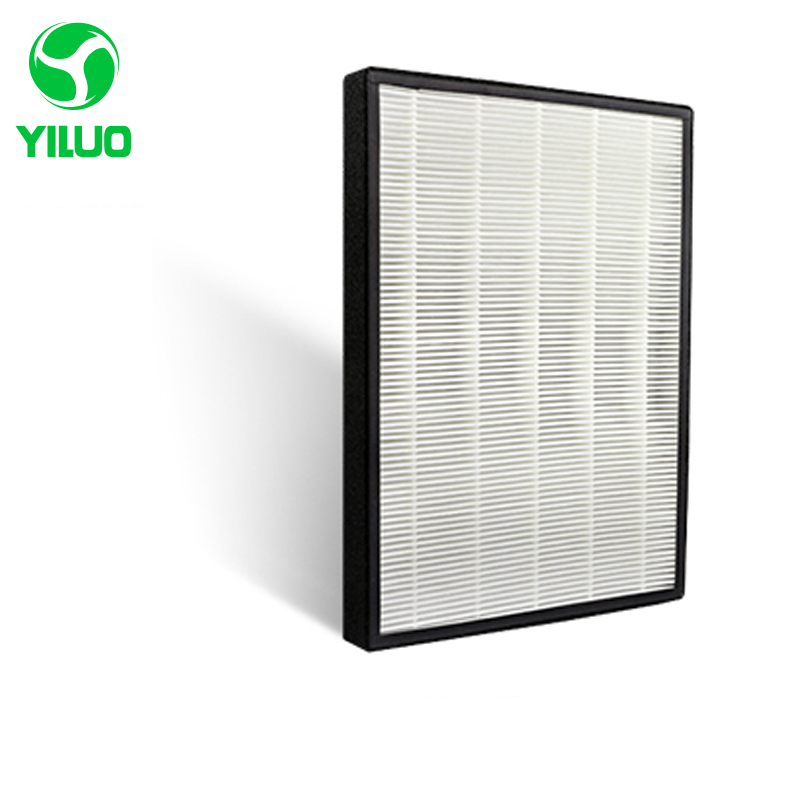 390*280*35mmdust hepa air filter of high efficient composite air purifier parts, HEPA dust collection filter 3MKJEZ200E