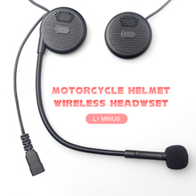 Freedconn L1 MINUS Wireless Motorcycle Helmet Headset Headphone Bluetooth Stereo Music Earphone Handsfree With Microphone