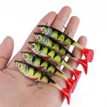Goture 5pcs/lot 11g 8.5cm Soft Lure Artificial Bait Luminous Lead Fishing Jig Wobblers Fishing Lure Sea Fishing Tackle