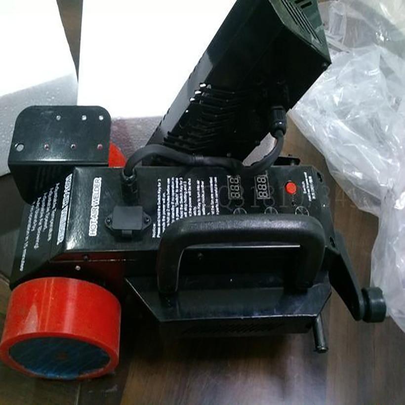 1 pc Flex PVC bannière machine de soudage pour bannière commune Bâche soudeur/sort chaude machine/Automatique à air chaud soudeur