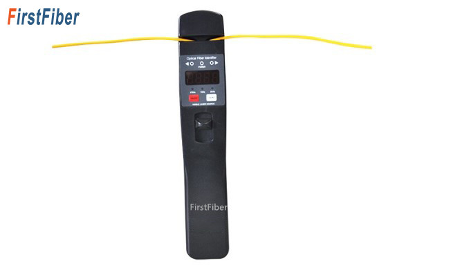 FirstFiber JW3306D Fiber Optic Identifier Live Fiber Optical Identifier With Built In 10mw Visual Fault Locator