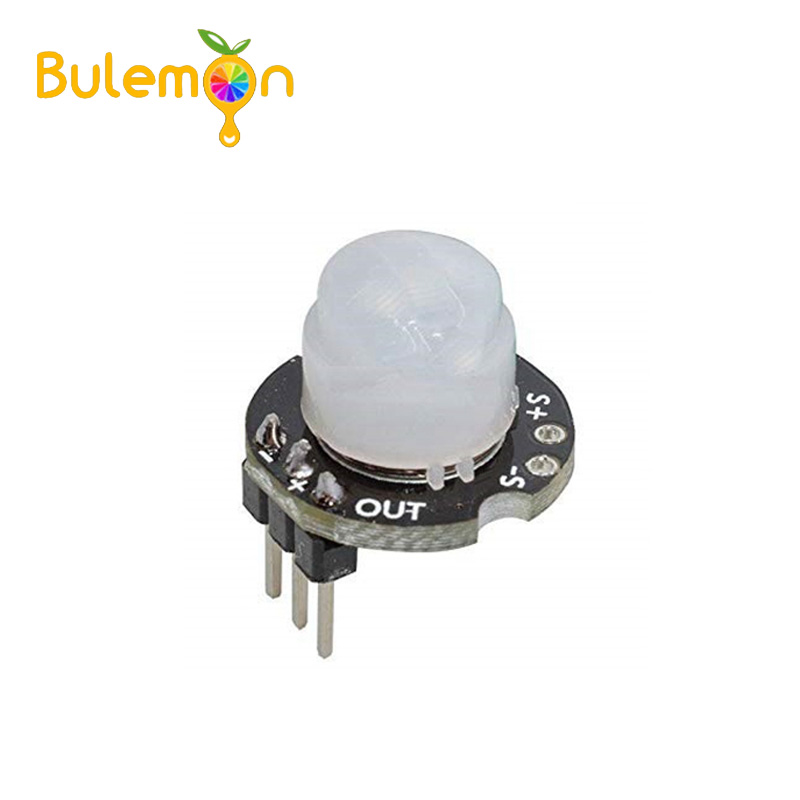 Infrared Motion Detector With Microcontroller Circuit Electronic
