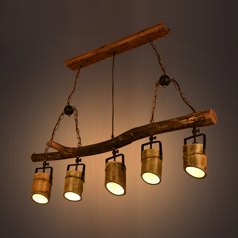 industrial wind Pendant Lights attic retro lighting creative personality restaurant network gamma clothing store lamp LU71477