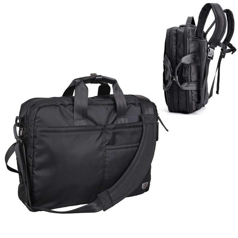 66d588f071 BAGSMART Multifunction Men Laptop Backpack Black Laptop Bag For 14-16 Inch  Computer Polyester Laptop