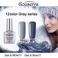 New Arrival12 Gray Series colors Gel Nail Polish DIY Nail Art Salon UV Nail Polish 8ML1Pcs Soak Off Gel Lucky Free Shipping