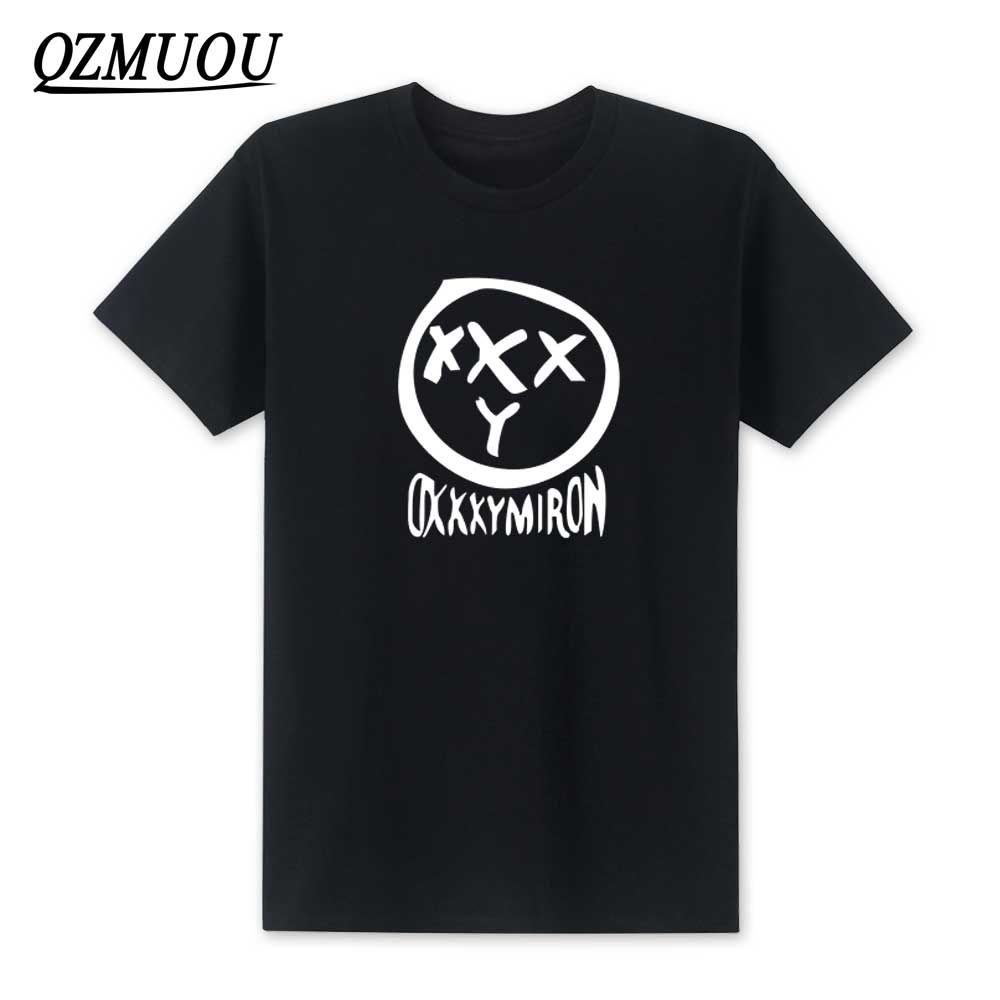 New Fashion Oxxxymiron T-shirt Male Anime 2019 Summer New Men's T-Shirt Fashion Printing T Shirts Short-Sleeved Tee Shirt XS-XXL
