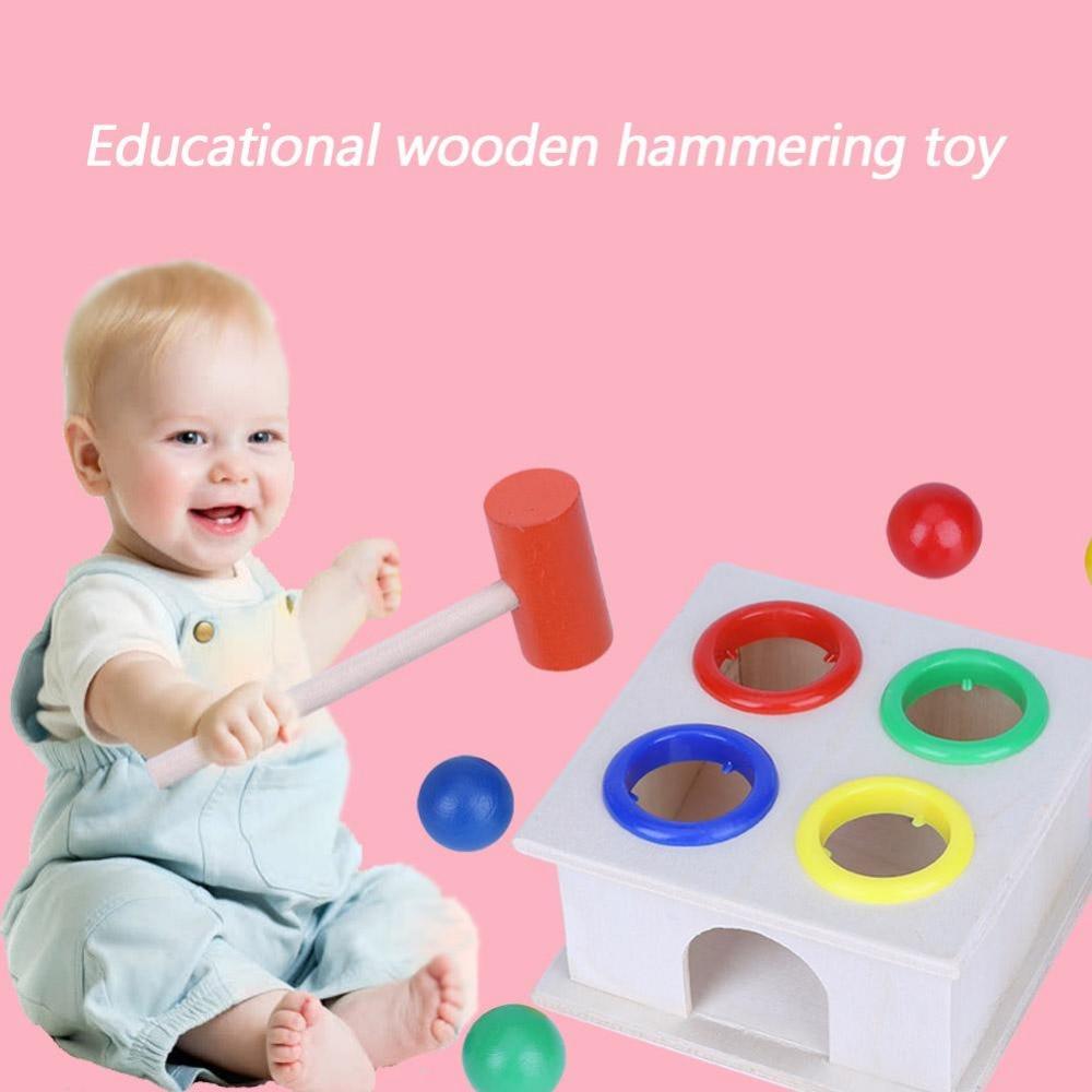 Wooden Toy Gift Baby Kids Intellectual Developmental Educational Early Learning