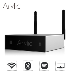 Image 2 - Arylic A50 Mini Home WiFi receiver and Bluetooth HiFi power Stereo Class D digital multiroom network audio amplifier with usb