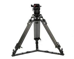 "Image 3 - Tetris TRIX 65 ""V12T profesyonel karbon Fiber Tripod Video kamera tripodu w/sıvı kafa yükü 12KG TILTA kulesi kırmızı Scarlet Epic"