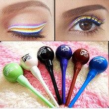 1Pcs Lollipop Shape Liquid Eyeliner Candy Cosmetic Waterproof Liquid Eyeliner Eye Liner Pencil Pen Women Beauty Makeup Tool