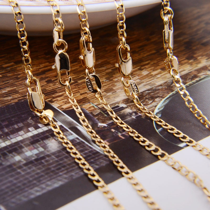 145d08d41 ≧ Popular gold chain necklece and get free shipping - Light Bulb ie24