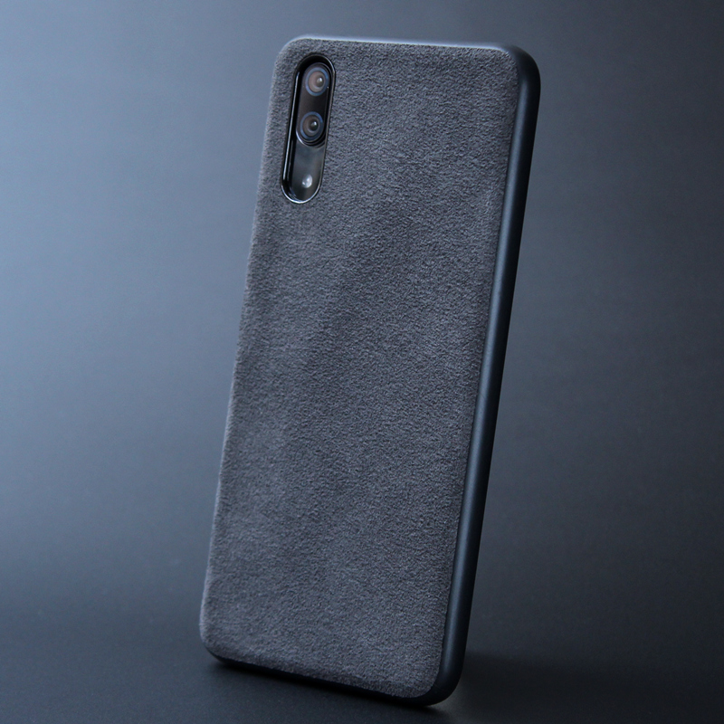 new arrivals 6a087 8b15a Italian Suede Like Fabric Leather Case for Huawei P20 P 20 Pro Lite Cover  Phone Housing Shell Capa for Huawei Nova 3i 3e 3 Coque