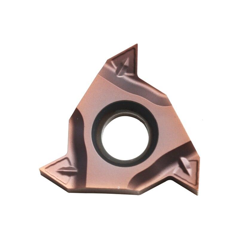 External Threading Tungsten Carbide Insert 16 ERM Original Zcc RT16 01W AG60PB AG55PB YBG205 Turning Tool