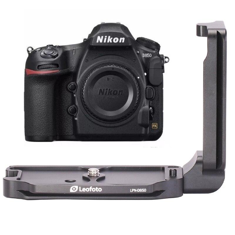 CNC Quick Release L Plate LPN-D850 Bracket For Nikon-D850