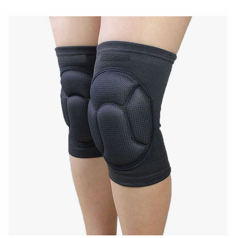1Pair Fitness Running Cycling Knee Support Braces Elastic Nylon Sport Compression Knee Pad Sleeve for Basketball Volleyball