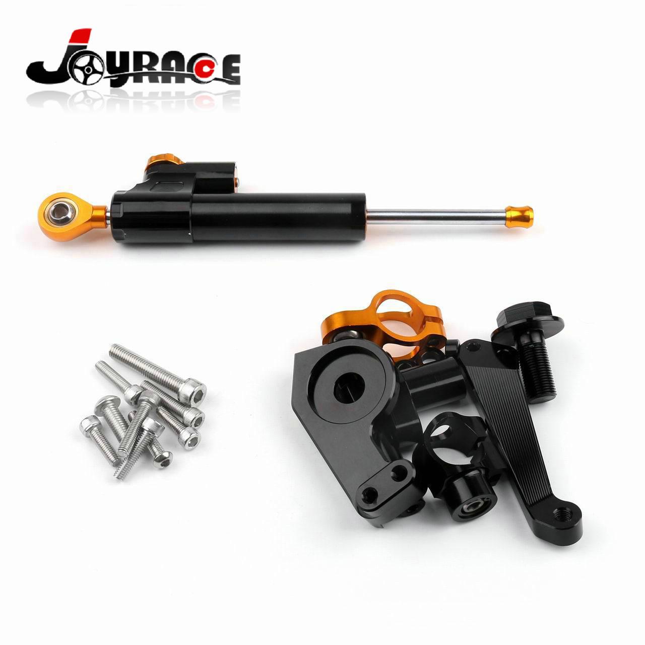 Adjustable Motorcycle Steering Damper Bracket for Yamaha YZF R3 YZF R25 adjustable steering damper