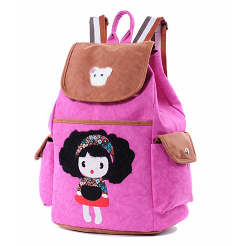 7d074c053d4 RUIPAI New nylon backpacks for teenage girl Female shoulder school bag  Fashion Women pack Ladies printing Backpack casual cute