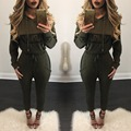 New arrive fashion rompers women jumpsuit warm winter women clothing bodysuit women overalls M393