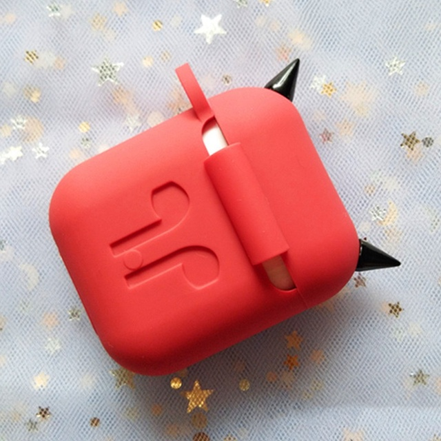 Devil Style Soft Silicone AirPod Case Cover 4