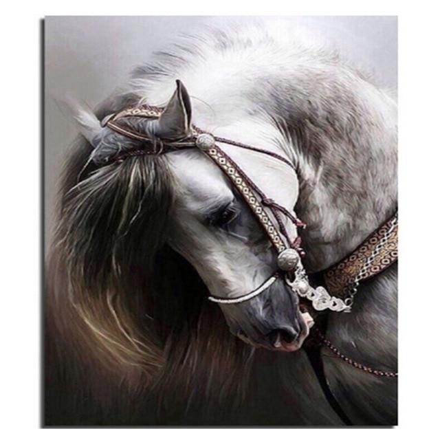 Cheval Tete date fraîche cheval tête creative diamant broderie bricolage diamant