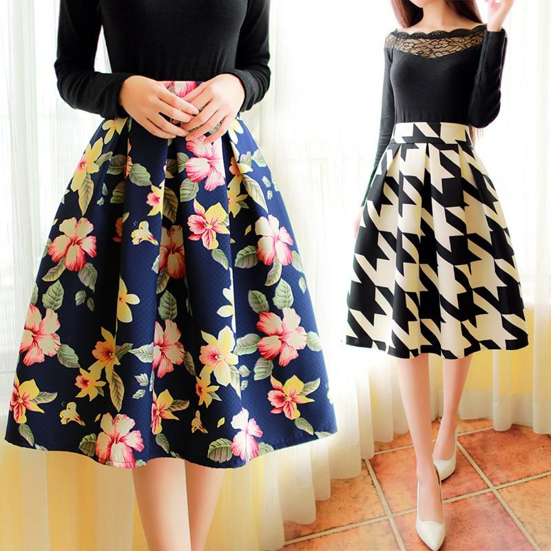 Skirts Knee Length - Skirts