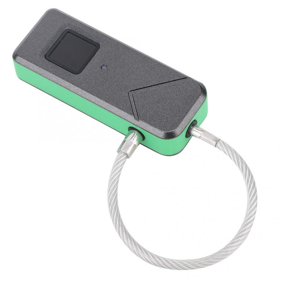 Verrouille le cadenas intelligent d'empreinte digitale serrure de sécurité sans clé serrure intelligente de porte pour la valise de bagage de porte - 4