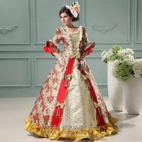 Noble Elegant Ladies Century Medieval Renaissance Victorian Dress Palace Ball Gown/Party Dresses/Prom Dresses Halloween Costume