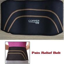 2016 New Arrival Weight Loss Slimming Wrap Belt Spine Support Waist Belt Pain Relief Belt Lumbar Copper Fit Back Pro