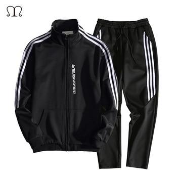 Two Pieces Casual Tracksuit Sweatshirt+Pants Suits Hoodies Set