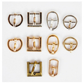 Diy metal bjd blyth doll shoes and bag accessories mini ultra-small Japanese doll buckle belt buckle 6pcs/lot