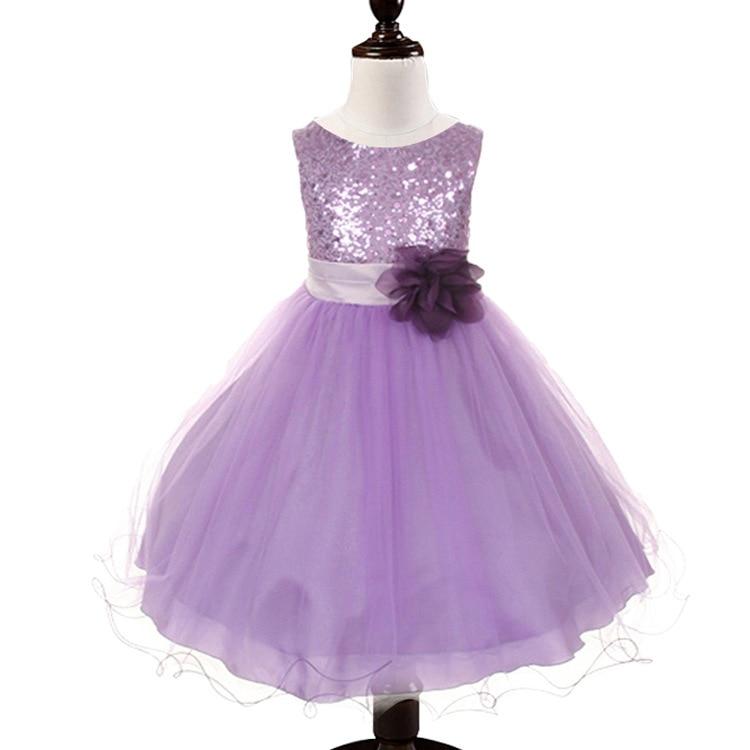 Encantador Vestidos De Fiesta Para Niñas De 10 Años De Edad Cresta ...