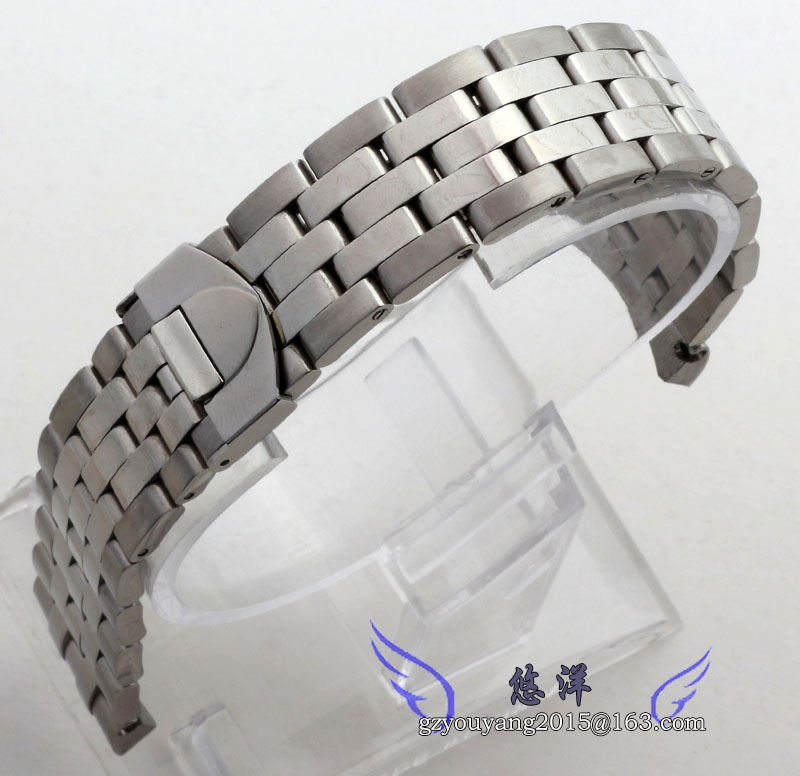 Stainless steel hand bracelet watches accessories Male is jun Jue series color strap 20 | 21 mm steelStainless steel hand bracelet watches accessories Male is jun Jue series color strap 20 | 21 mm steel