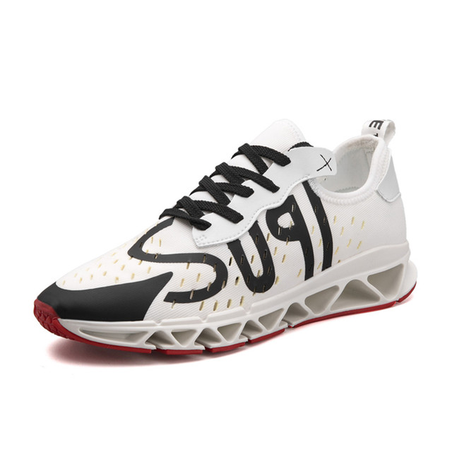 34dbd9c4ecb Hotsale Running Shoes for Men Stylish Sports Man Shoes Red Bottom Sneakers  Outdoor Blade Gym Athletic Black White Trainers